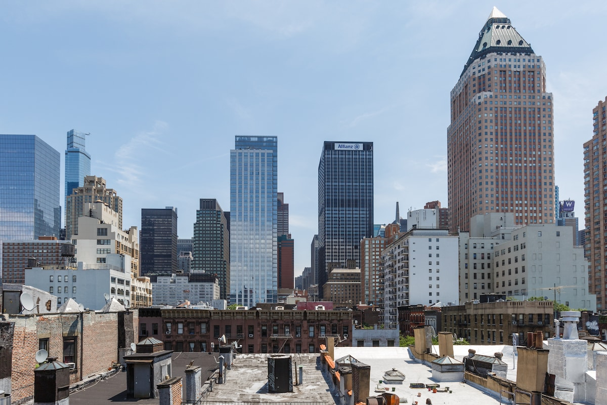 Theater District- Gorgeous Rooftop