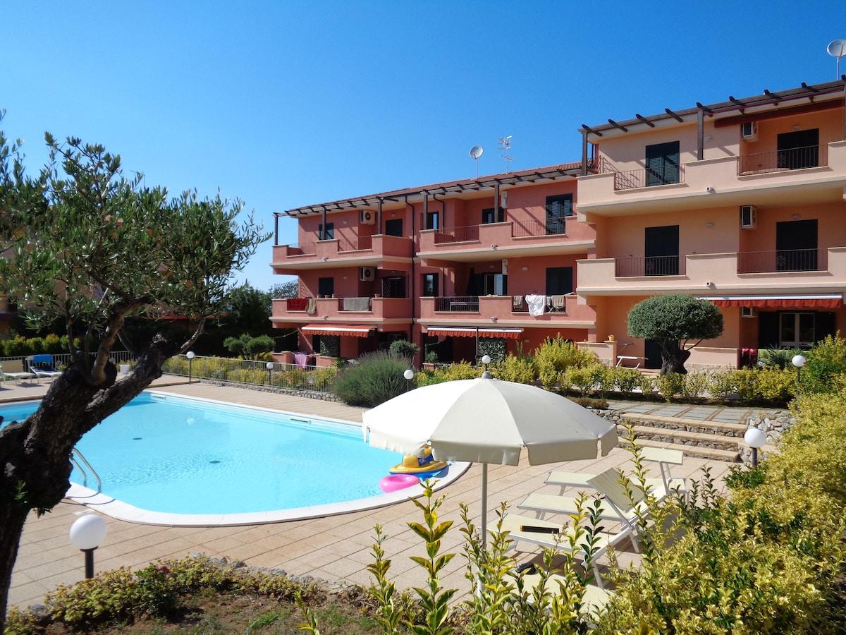 Casa vacanza con piscina Tropea