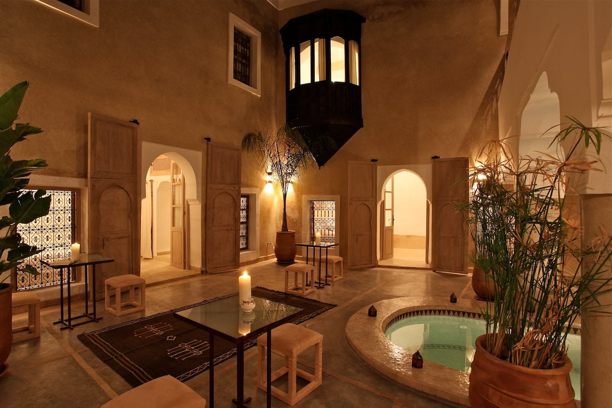 Suite Muscade, Riad BB, jacuzzi