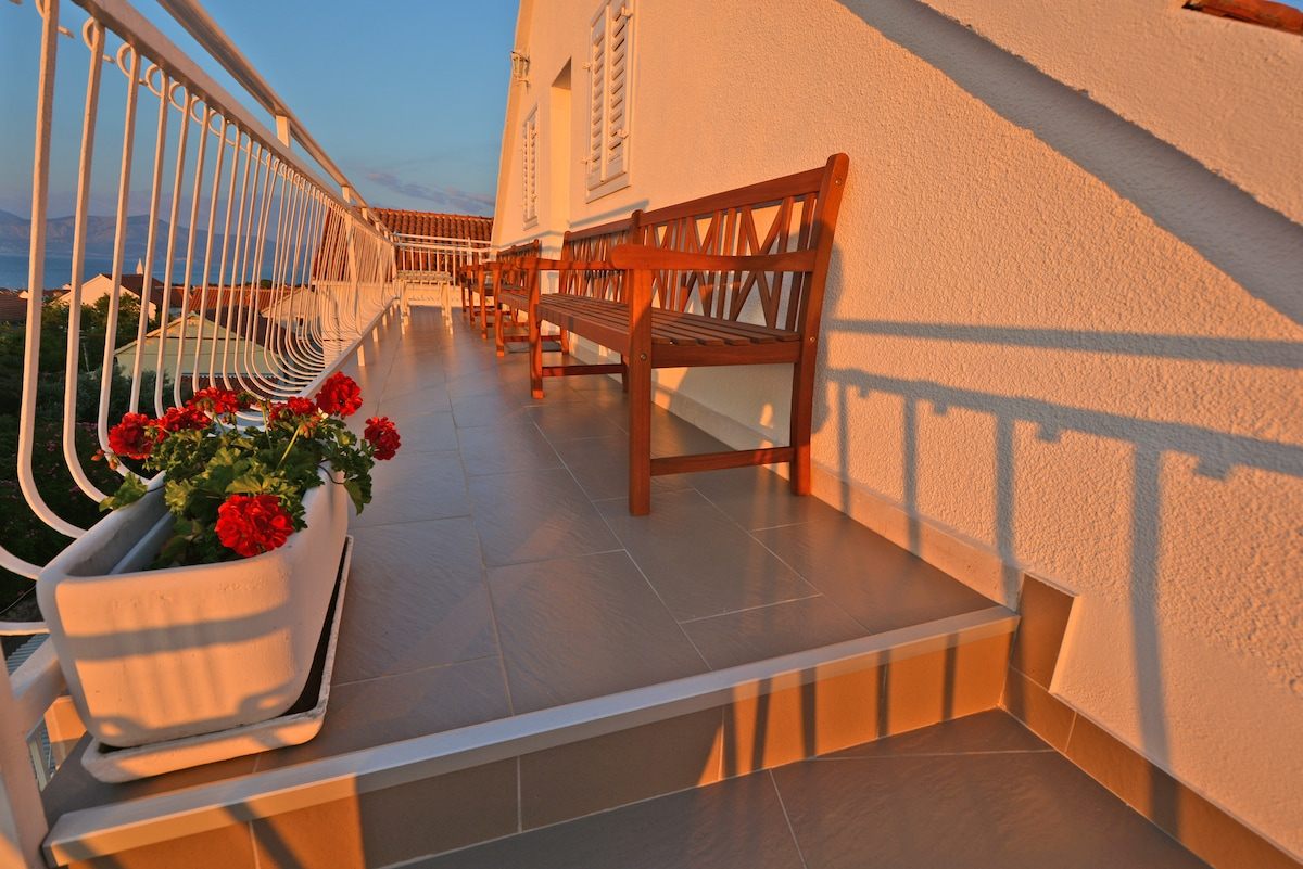 Budget selfcatering rooms in Villa