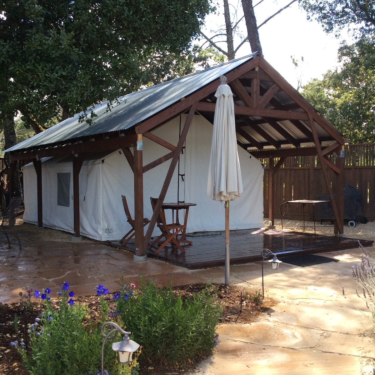 Napa Valley Safari Tent - Private