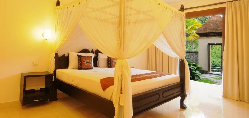 Stay in the heart of Ubud