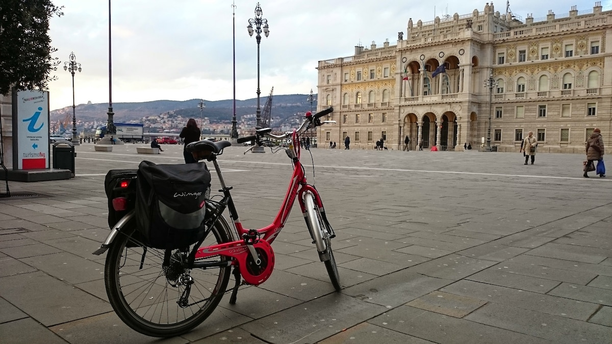 Bed & Bike: enjoy Trieste by bike!