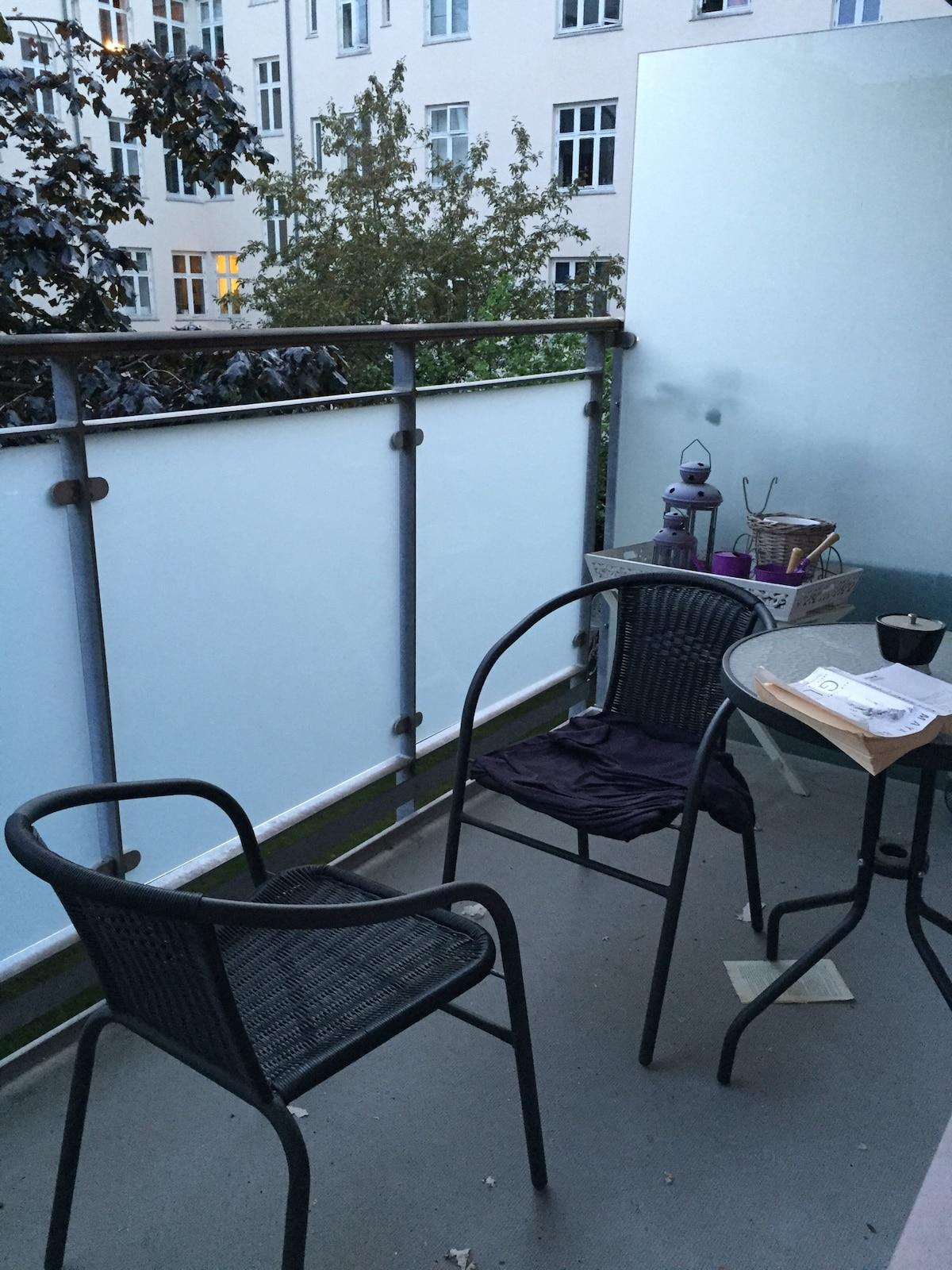 A cosy apartment incl. balcony