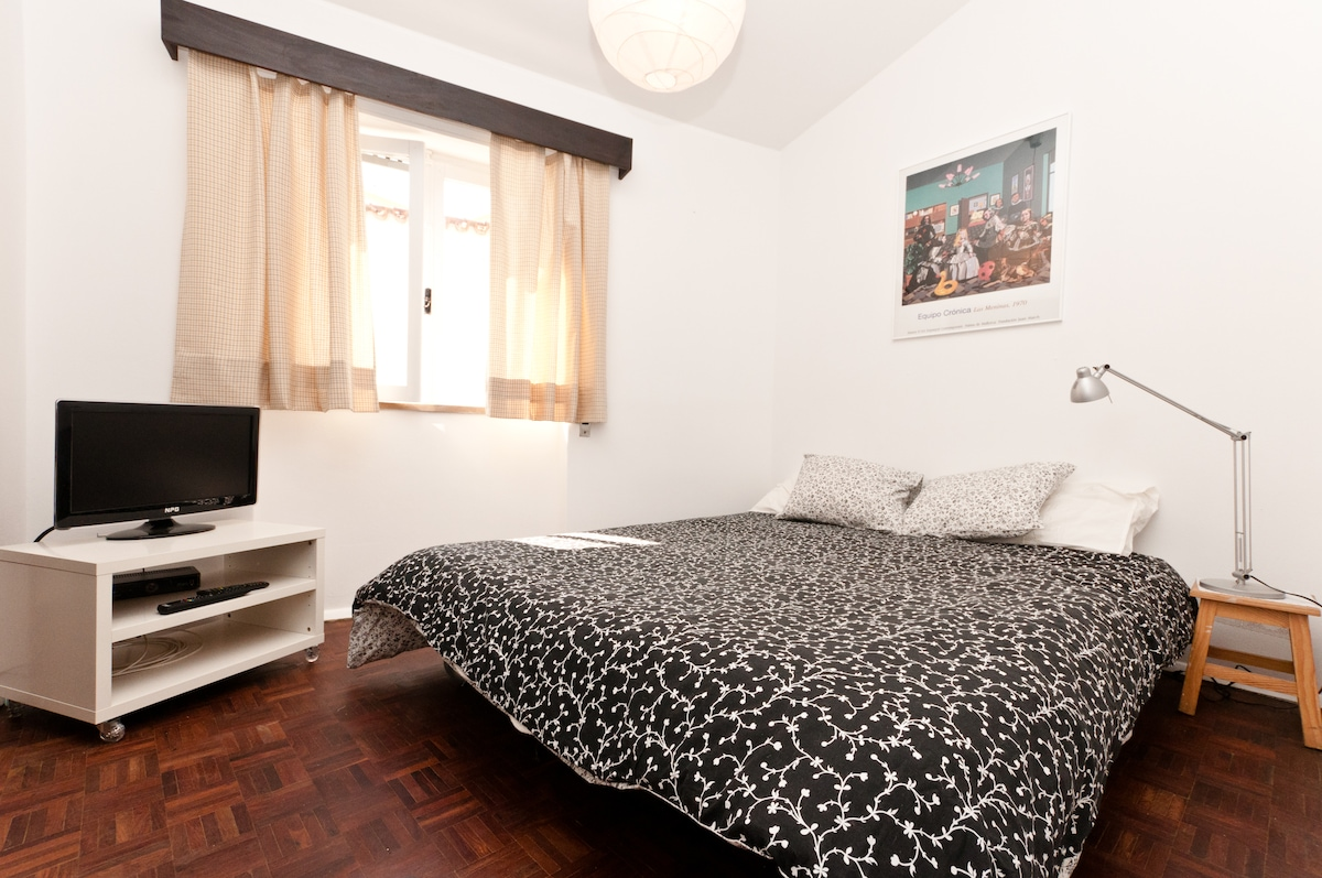 Living room , double bed ( sofa bed)