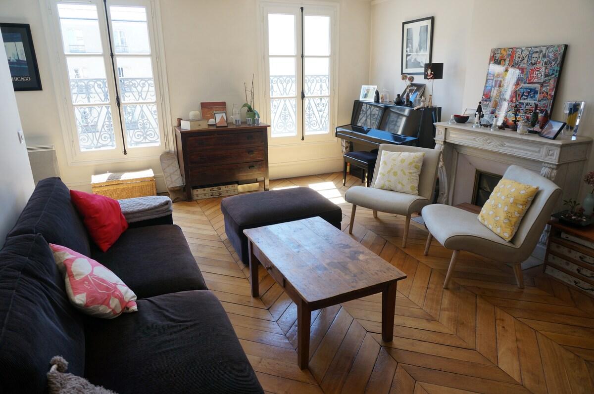 Charming flat in Le Marais