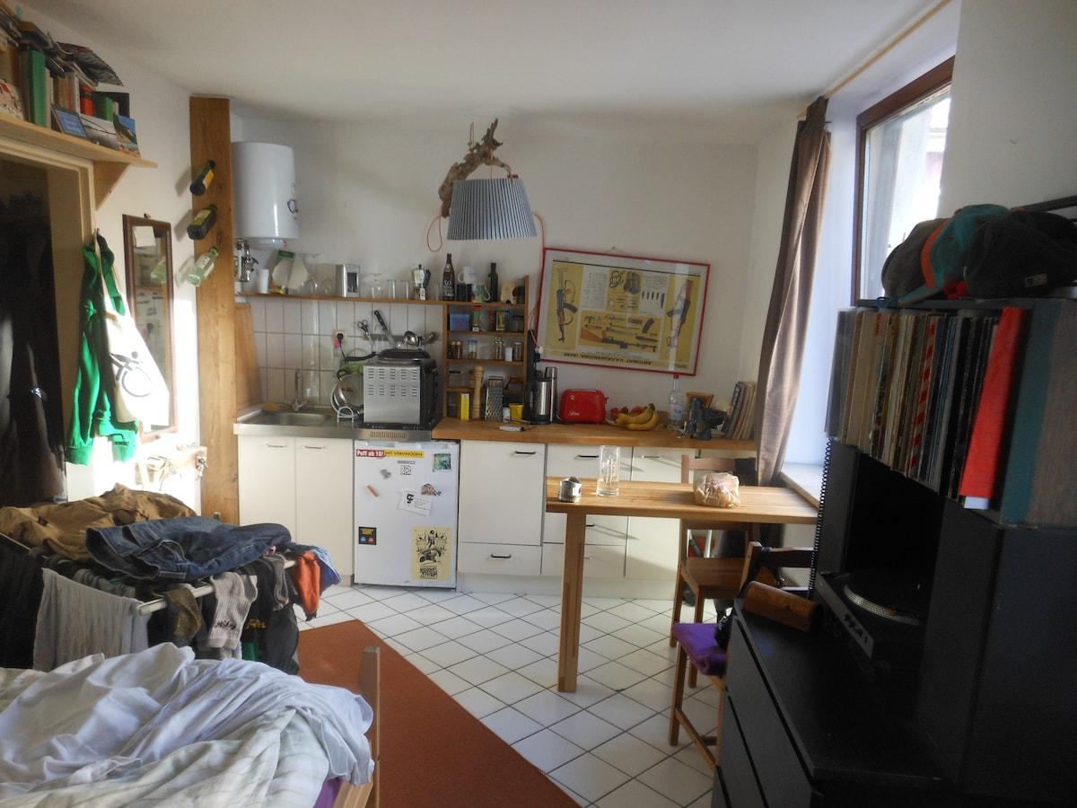 flat 18m² St. Pauli Große Freiheit