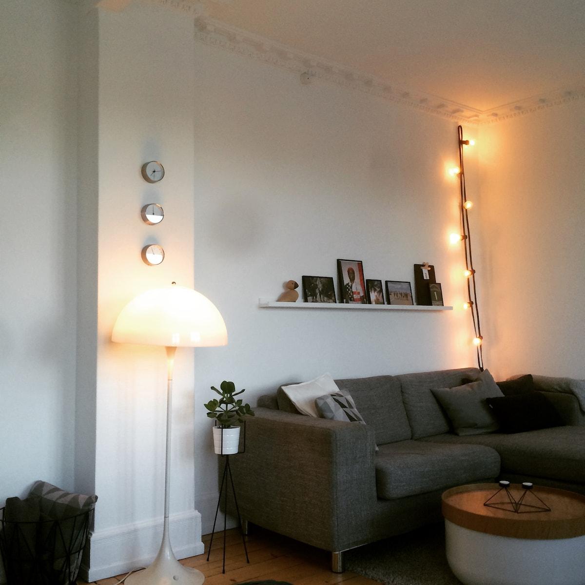 Apartment on lovely Frederikberg