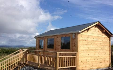 Twin room cabin with ensuite.