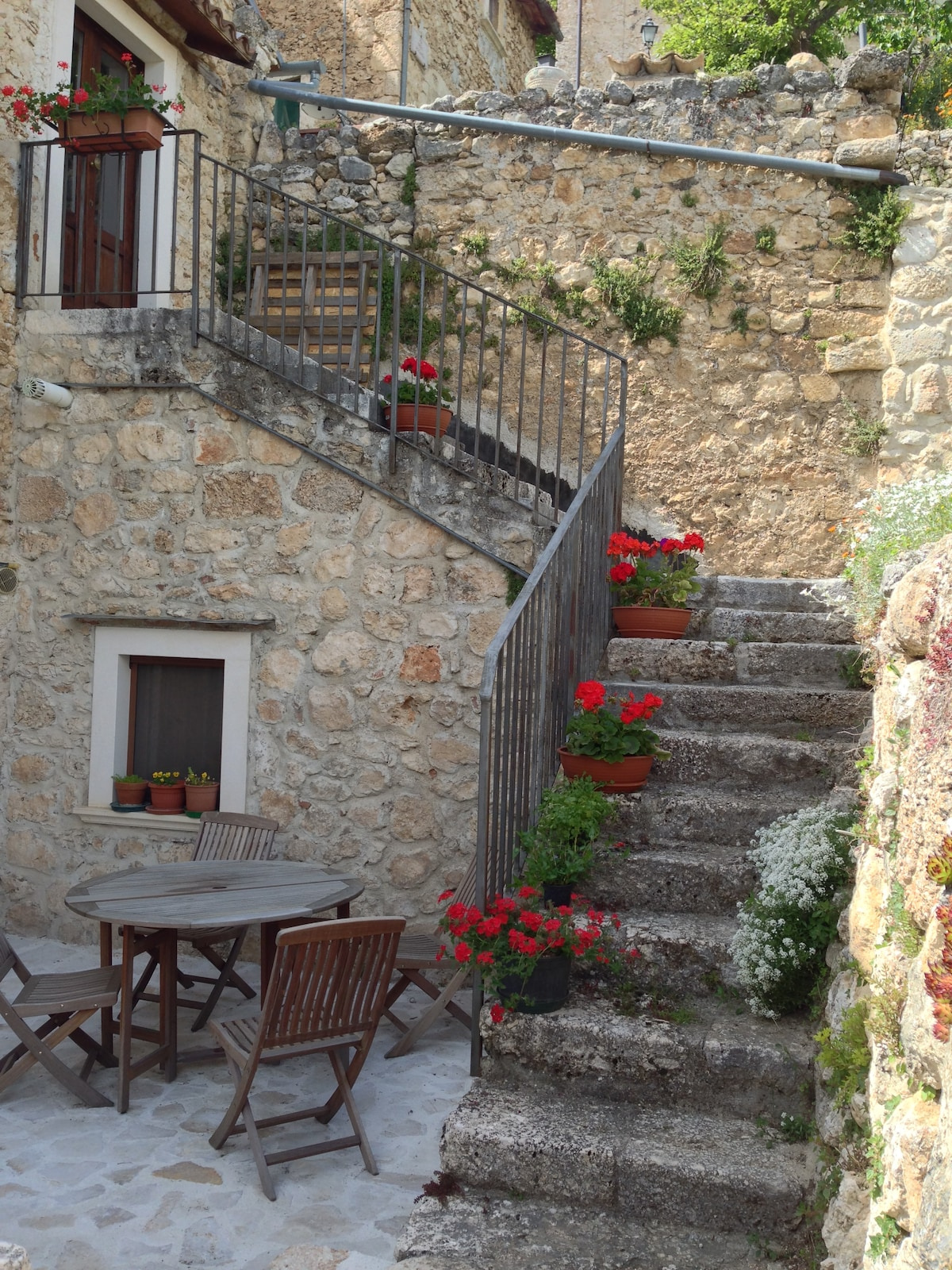 Stone House in picturesque village