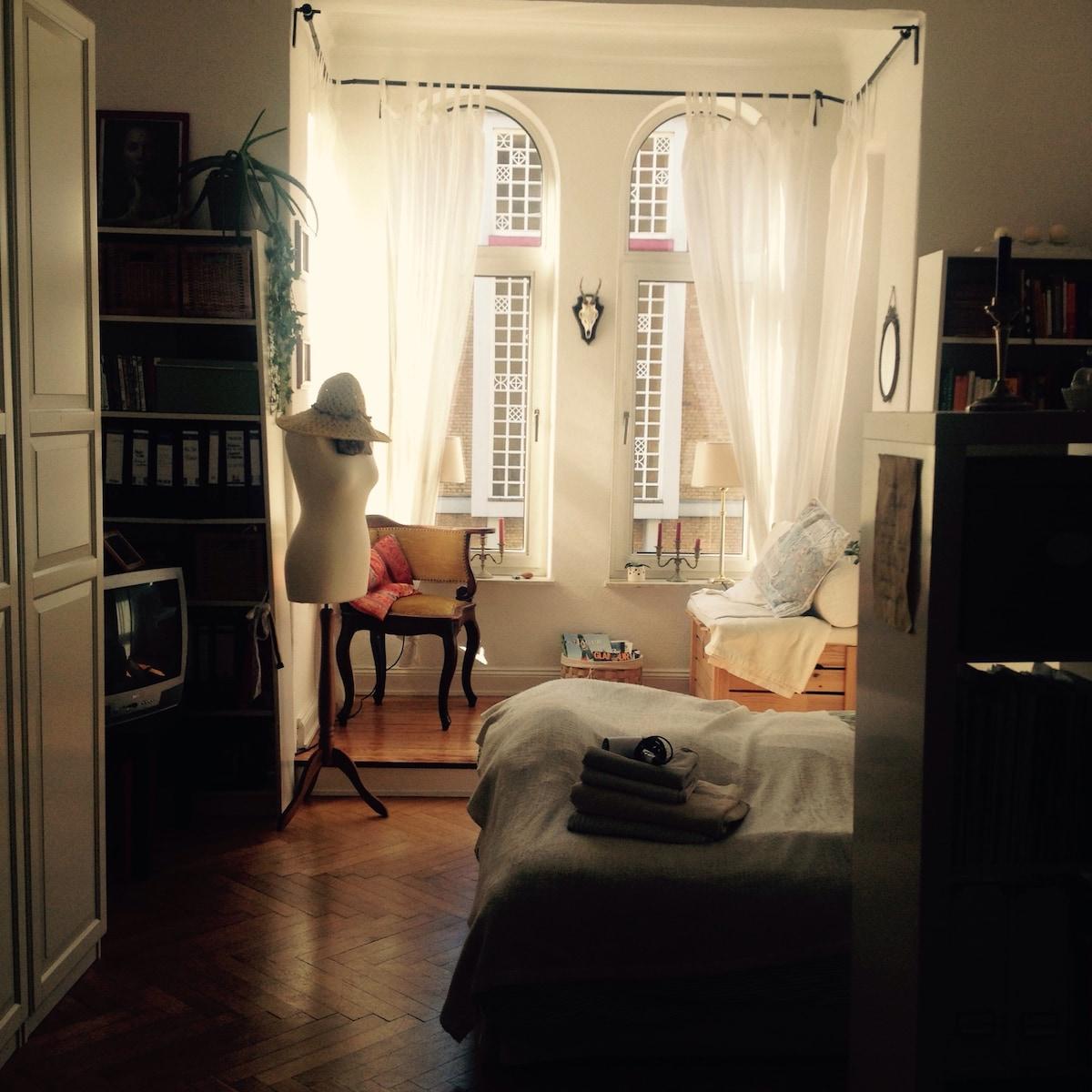 Geräumiges, gemütliches Zimmer