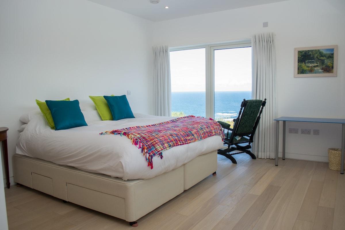 Sea views over Sennen Cove