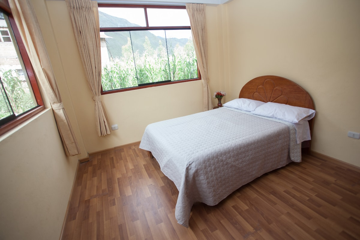 Double bed in Sacred Valley