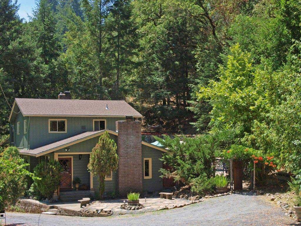 Agua - Creek, Redwoods, Pool, HT