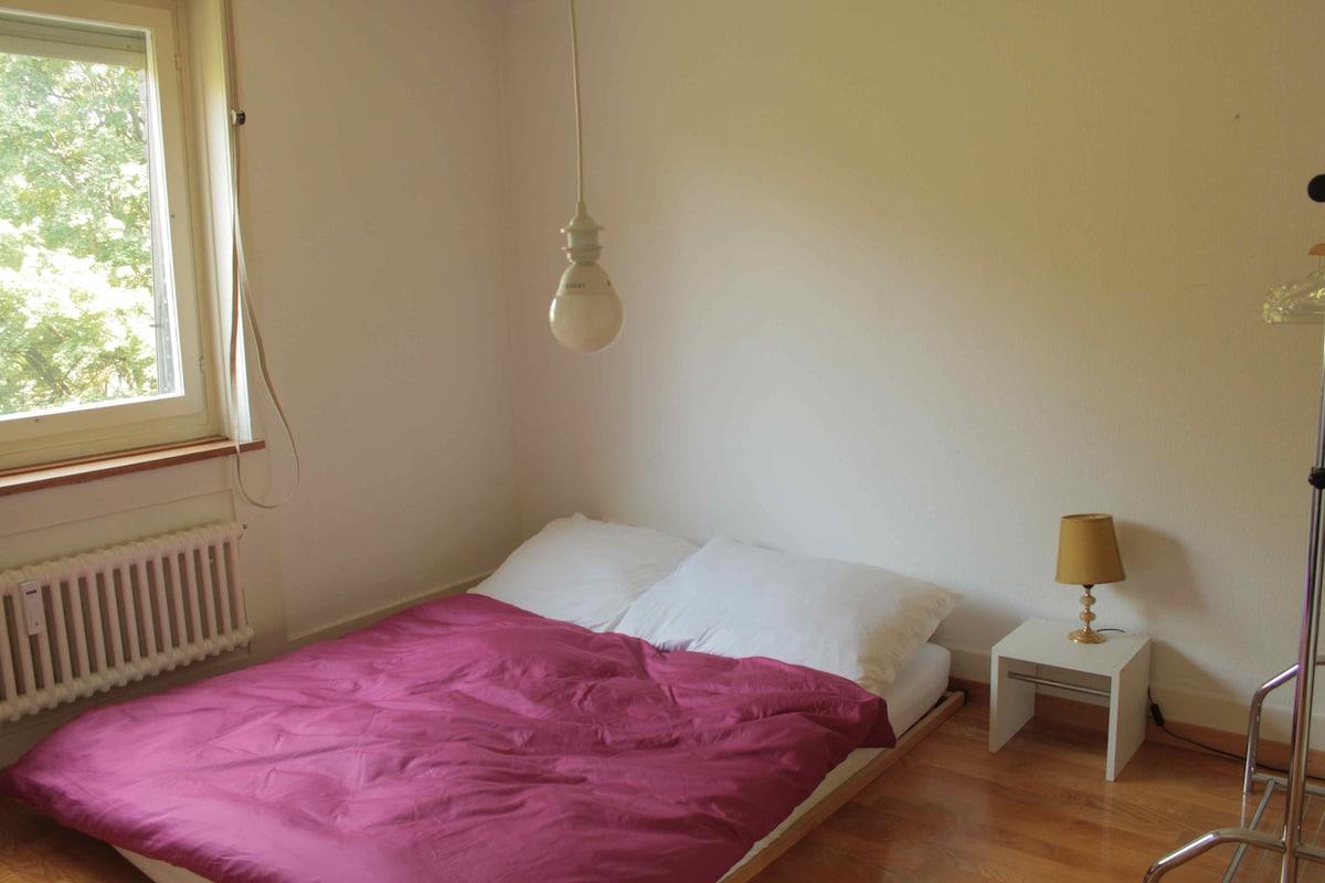 Charming room in apt in Kreis 4