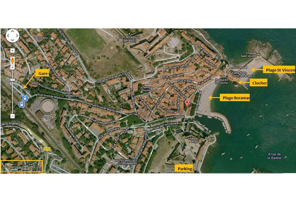 Heart of Collioure- with Terrace!!!