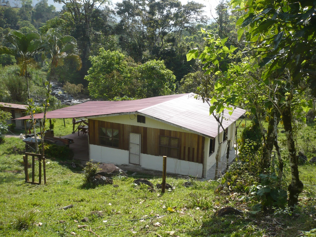 FINCA PURA VIDA: Ferienhaus Casa Tucán