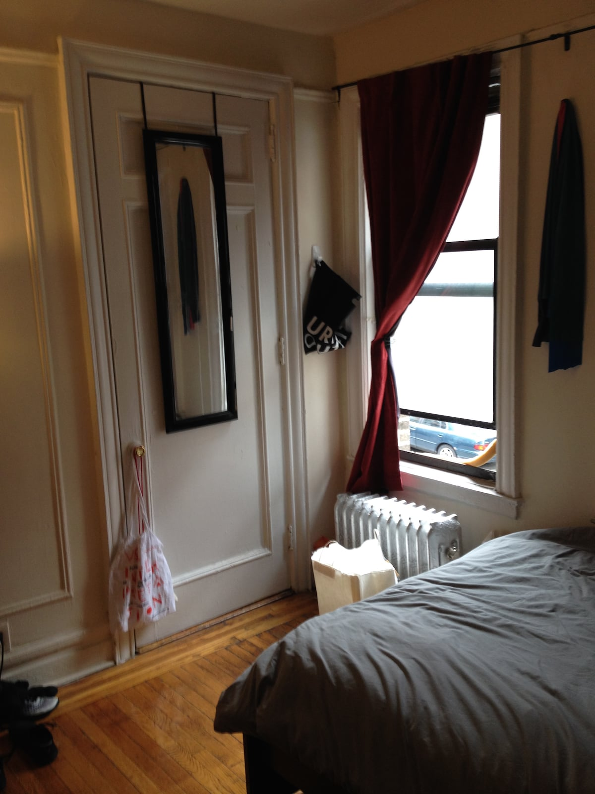 Large BR in 3BR Manhattan apart.