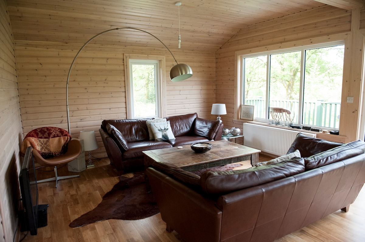Stylish New Cosy Lodge in Grizedale