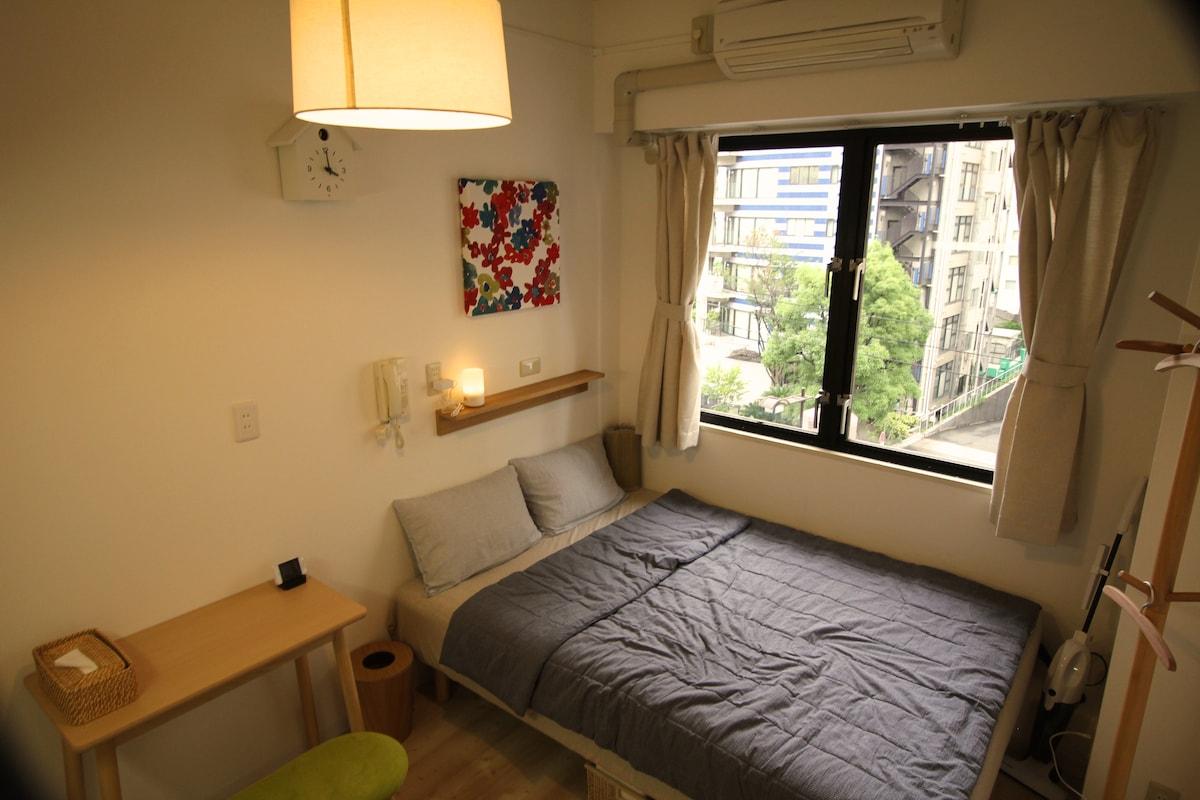 'MUJI' Room near Subway & Osakajo 1