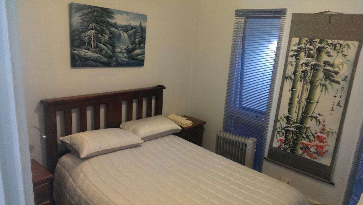Comfortable modern bedroom