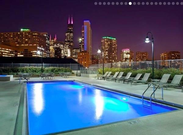 Luxury 1BD Pool  River Views