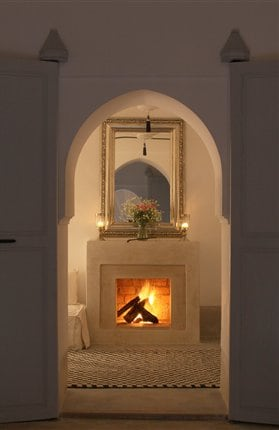 Fireplace in the Salon