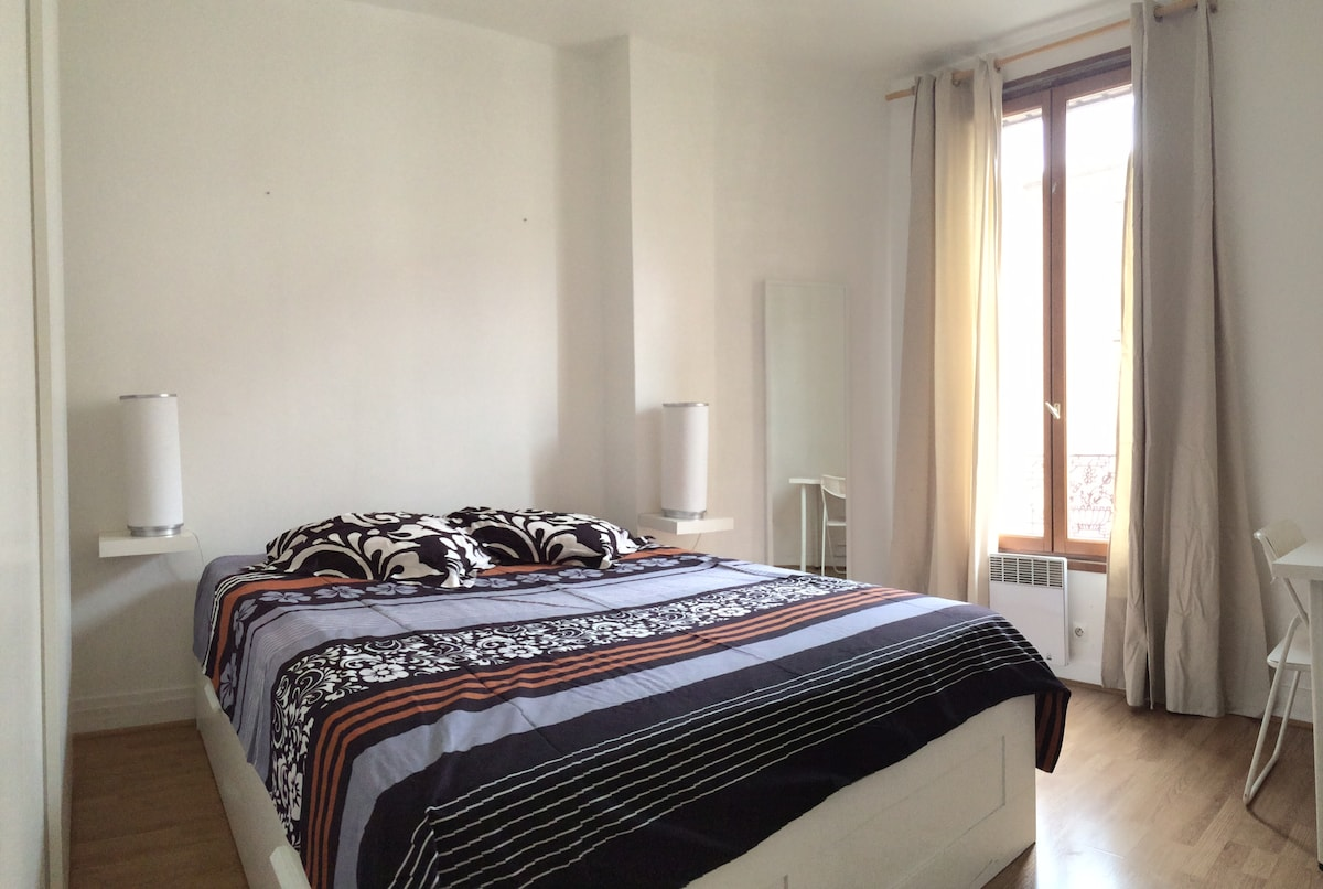 Flat 15min from center of Paris