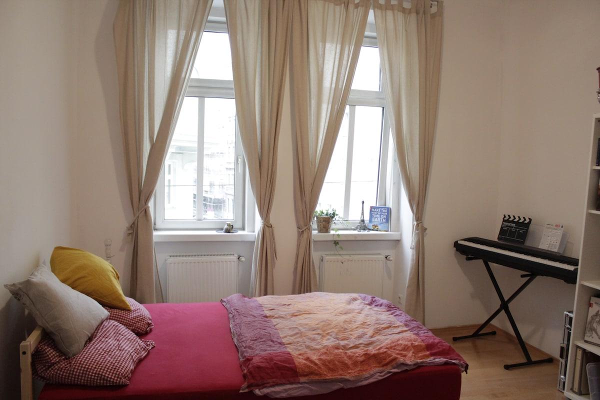 Sunny room near Bellevedere