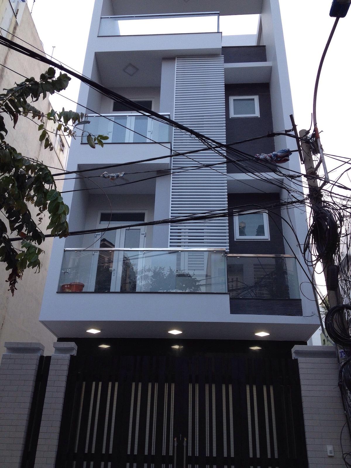 Brand new house, green environment
