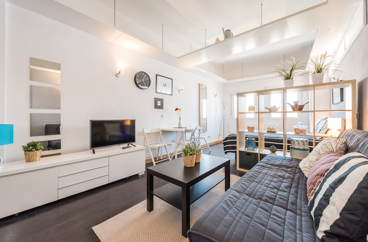 Luxury flat in Pz. Chueca with view