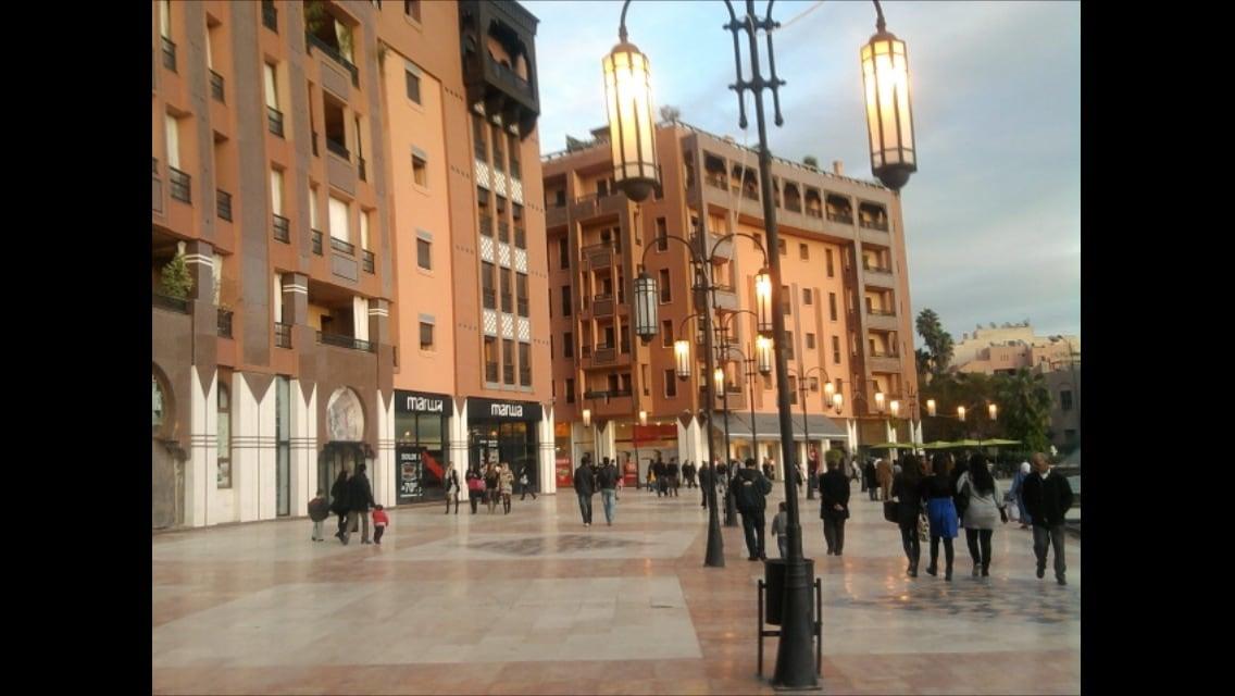 Superbe appart à Marrakech Plaza