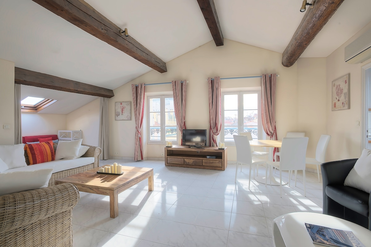 Central Cannes Apartment 2 Bedroom