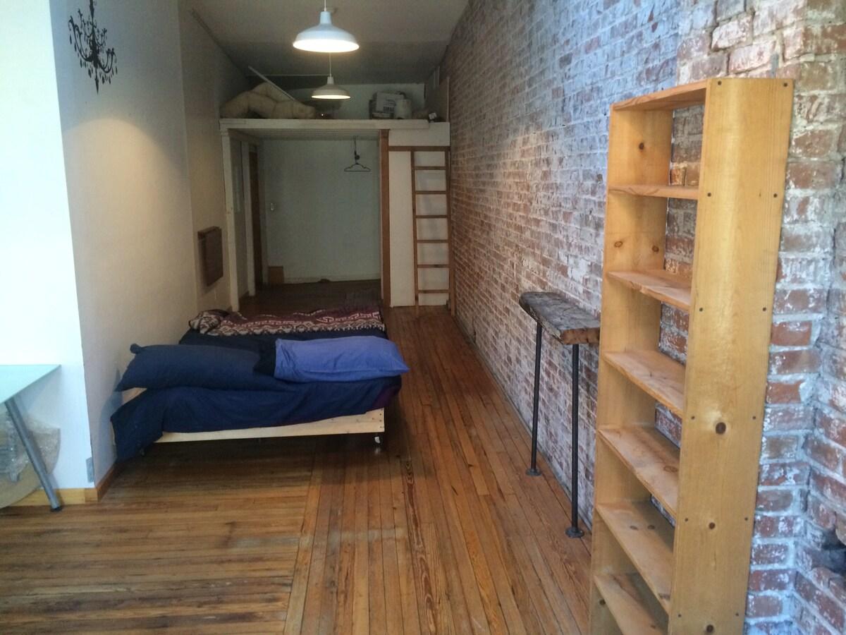 Large room in LES Loft Apartment