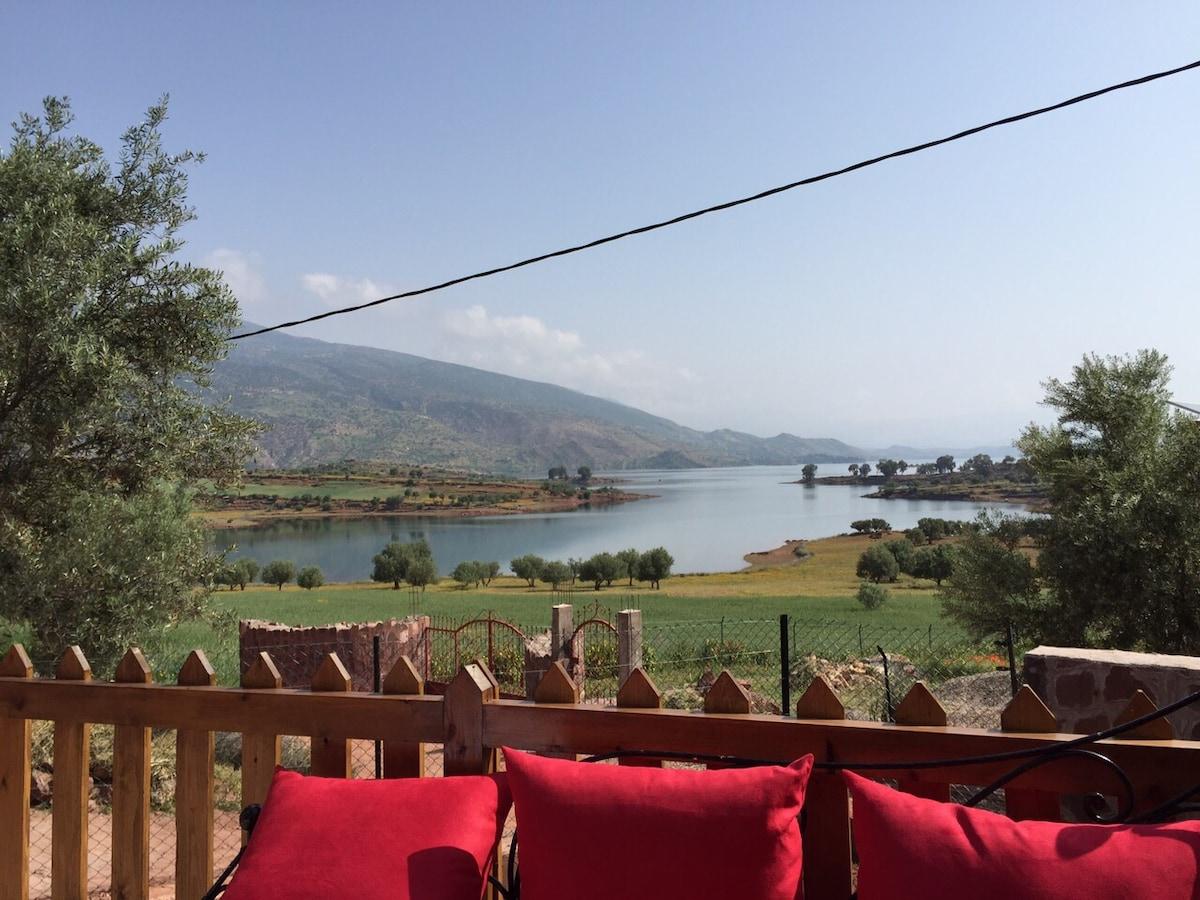 Maison lac Bin El Ouidane