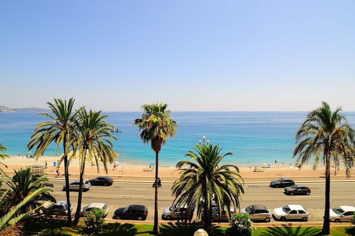 Promenade des Anglais Magical view
