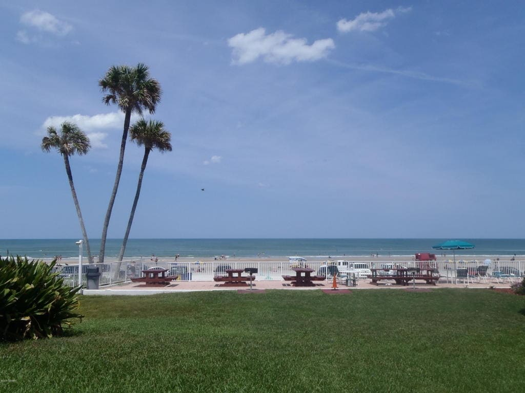 Beach front worry free condo w/view