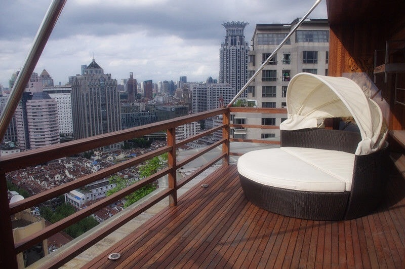 Stunning room with 2 own balconies