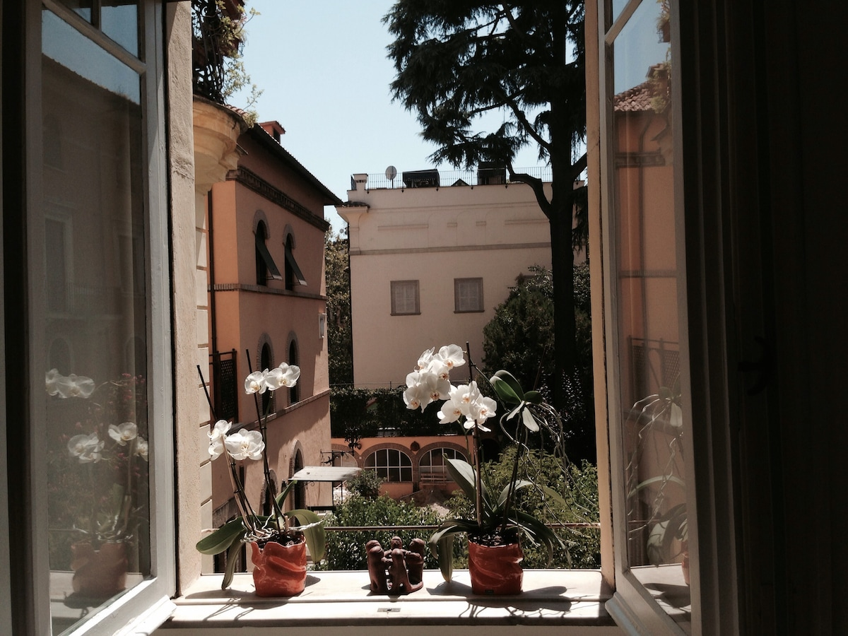 Lovely room  in Trastevere's heart