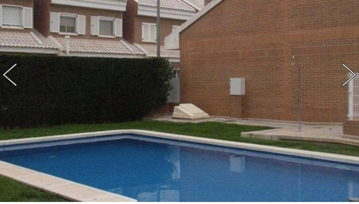 Duplex con piscina en Murcia.