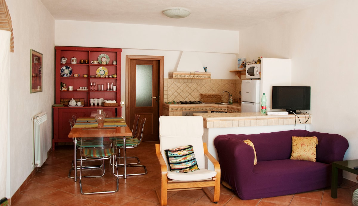 Rome, apartment in villa with pool