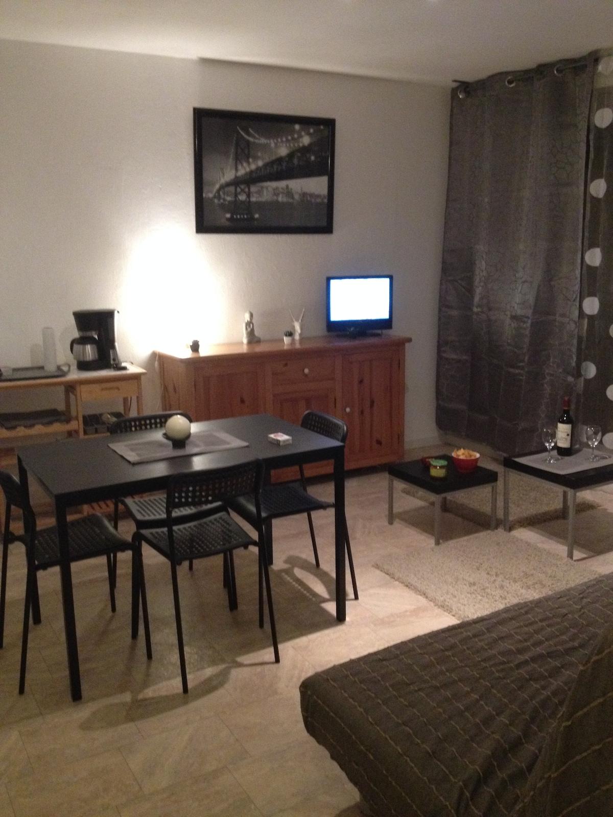 Appartement 28m² Port d'Hyères