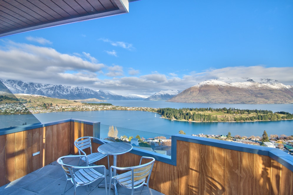 Superb Views over Queenstown