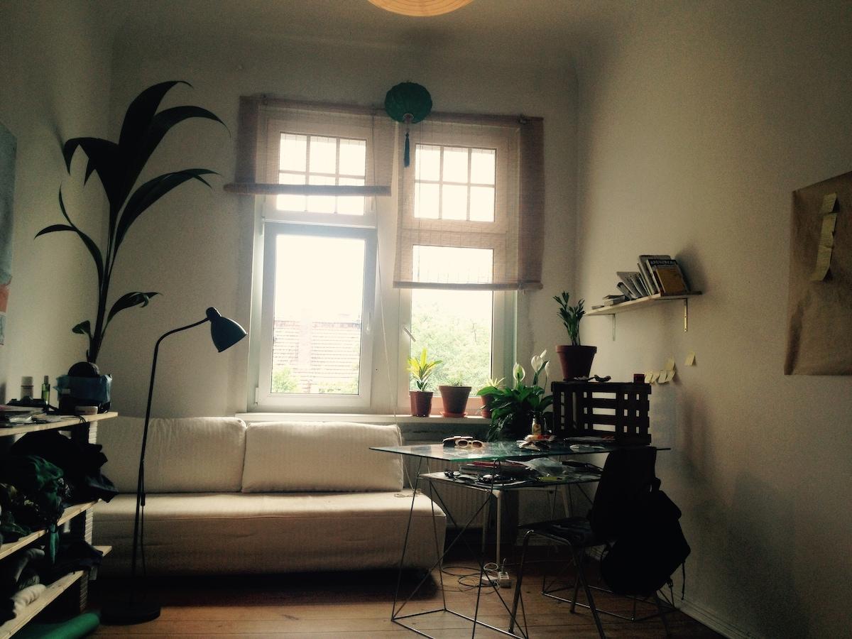 20m2 Sunny room in Moabit/Berlin