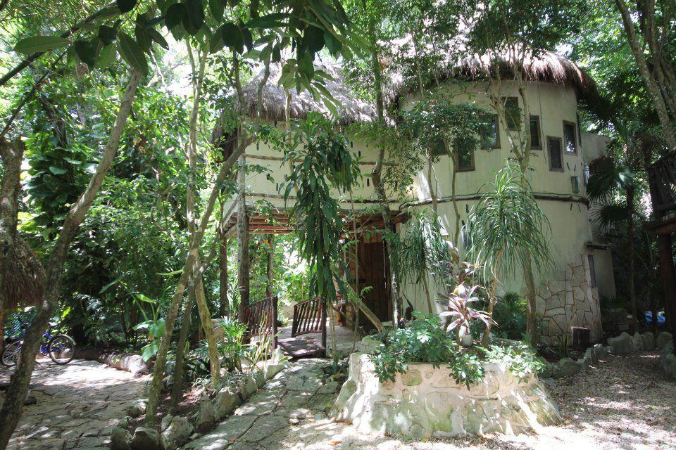 exterior of cabana