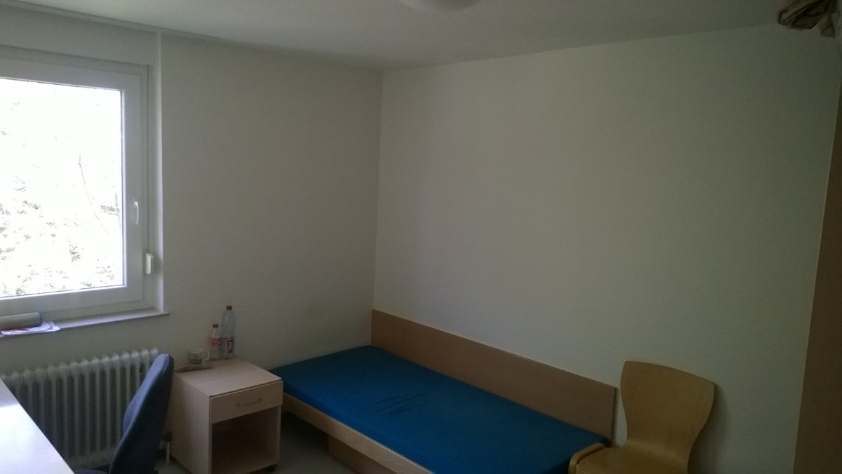 Student room free for a week