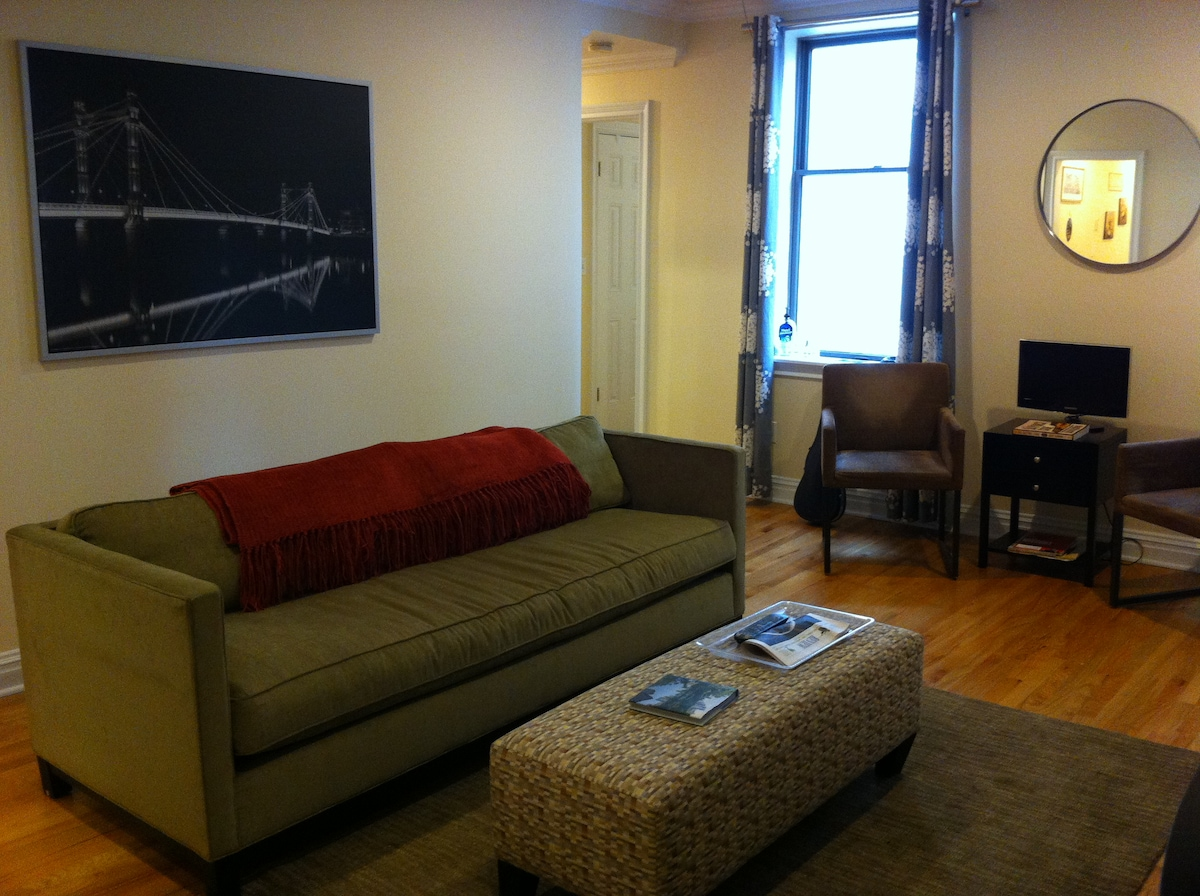 EXCELLENT location well furnished !
