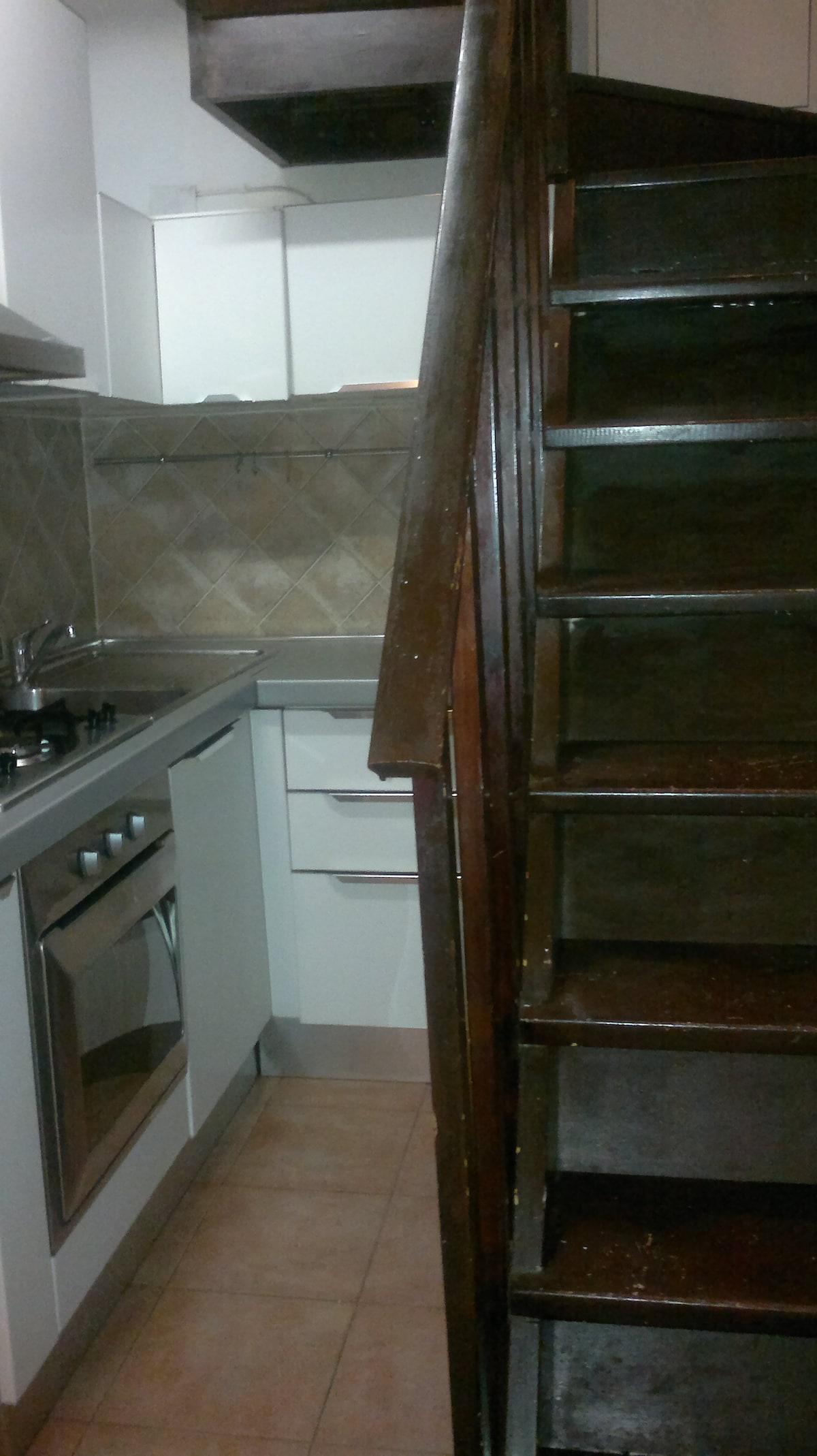 angolo cucina/scala interna
