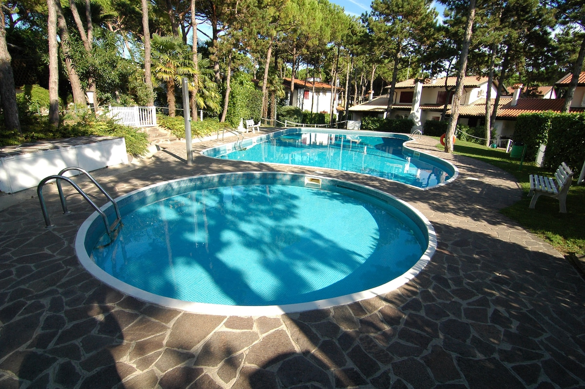 Lignano House with two pools