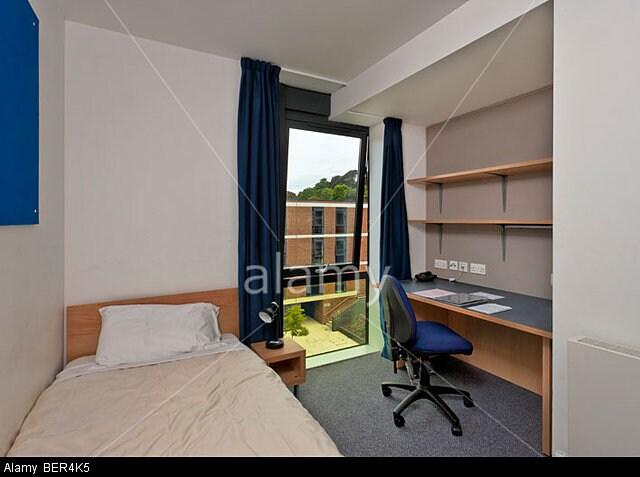 Clean ensuit, University of Sussex